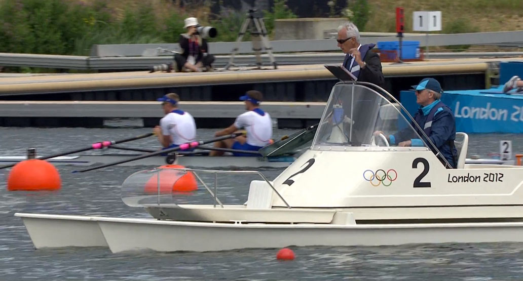 C22 Umpire Catamaran at London Olympic Games, 2012